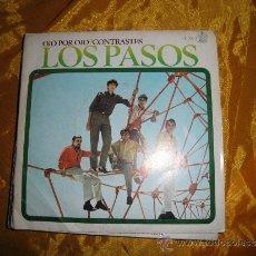 Dischi in vinile: LOS PASOS. OJO POR OJO / CONTRASTES. HISPAVOX 1967. VINILO IMPECABLE. Lote 35523447