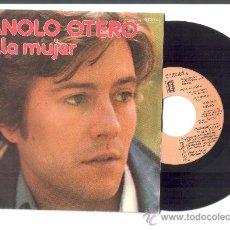 Discos de vinilo: .1 SINGLE DE ** MANOLO OTERO ** BELLA MUJER Y MIMI ** - AÑO 1976. Lote 35525713