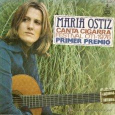 Discos de vinilo: SINGLE - MARIA OSTIZ (1976). Lote 35534202