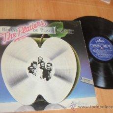 Discos de vinilo: THE PLATTERS LP BODAS DE PLATA MADE IN SPAIN 1981. Lote 35529370