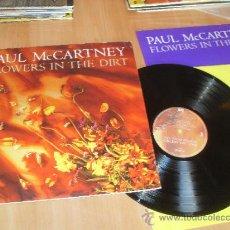Discos de vinilo: PAUL MC CARTNEY LP FLOWERS IN THE DIRT MADE IN SPAIN 1989 PAUL MCCARTNEY. Lote 35529417