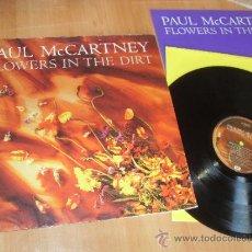 Discos de vinilo: PAUL MC CARTNEY LP FLOWERS IN THE DIRT MADE IN SPAIN 1989 PAUL MCCARTNEY. Lote 35529424