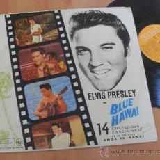 Discos de vinilo: ELVIS PRESLEY ORIGINAL SOUNDTRACK BLUE HAWAI MADE IN SPAIN 1973. Lote 35531477