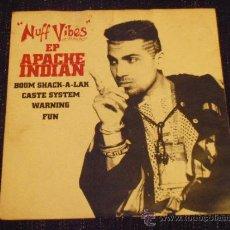 Discos de vinilo: APACHE INDIAN - NUFF VIBES - EP. Lote 35541081