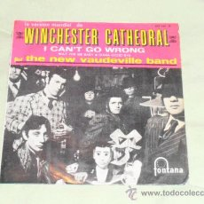 Discos de vinilo: THE NEW VAUDEVILLE BAND - WINCHESTER CATHEDRAL - EP.. Lote 35542491