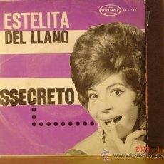 Discos de vinilo: ESTELITA DEL LLANO - SSSECRETO + 3 - VELVET EP-145 - EDICION VENEZOLANA. Lote 42318323
