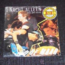Discos de vinilo: DOE MAAR - 1 NACHT ALLEEN - SINGLE - MADE IN HOLLAND. Lote 35555009