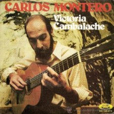 Discos de vinilo: SINGLE - CARLOS MONTERO (TANGOS) 1974. Lote 35557088