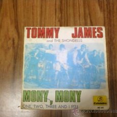 Discos de vinilo: TOMMY JAMES AND THE SHONDELLS - MONY, MONY. Lote 35563010