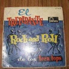 Discos de vinilo: LOS TEEN TOPS - EL TREPIDANTE. Lote 35564083