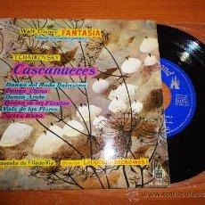 Discos de vinilo: WALT DISNEY FANTASIA BANDA SONORA CASCANUECES TCHAIKOWSKY EP DE VINILO AÑO 1960 CONTIENE 6 TEMAS. Lote 35572567