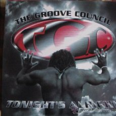 Discos de vinilo: MAXI - THE GROOVE COUNCIL - TONIGHT'S ALRIGHT (FIVE VERSION) (SPAIN, BOY RECORDS 1997). Lote 35573357
