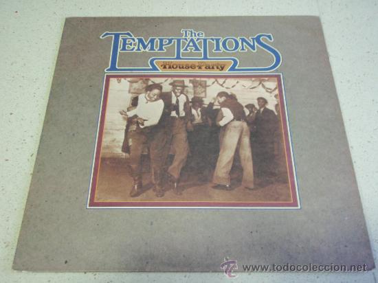 THE TEMPTATIONS ( HOUSE PARTY ) USA - 1975 LP33 MOTOWN RECORDS (Música - Discos - LP Vinilo - Funk, Soul y Black Music)