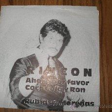 Discos de vinilo: RINCÓN - AHORA POR FAVOR COCA COLA Y RON. Lote 55089550