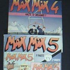 Discos de vinilo: * MAX MIX 5. 1ª Y 2ª PARTE. EN TOTAL 4 LPS + ESTUCHE Y MAX MIX 4. CONTIENE 2 LPS + ESTUCHE. Lote 35590110