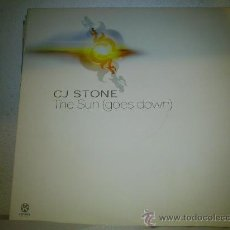 Discos de vinilo: CJ STONE: THE SUN (GOES DOWN). Lote 35595987