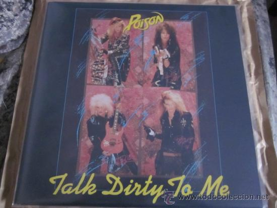 POISION - TALK DIRTY TO ME - MAXISINGLE - INCLUDES POISON INTERVIEW. (Música - Discos de Vinilo - Maxi Singles - Heavy - Metal)