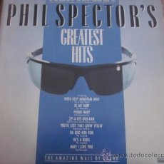 Discos de vinilo: PHIL SPECTOR'S GREATEST HITS - RONNETTES,CRYSTALS,IKE & TINA TURNER.. Lote 35597244