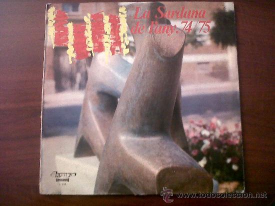 LA SARDANA DE L'ANY 74/75-OLYMPO 1975 (Música - Discos de Vinilo - Maxi Singles - Étnicas y Músicas del Mundo)