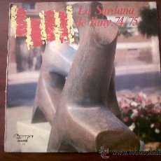 Discos de vinilo: LA SARDANA DE L'ANY 74/75-OLYMPO 1975. Lote 35599465