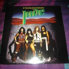 Discos de vinilo: LP HEAVY 1985 - JADE - IF YOU´RE MAN ENOUGH. Lote 35605486
