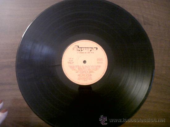 Discos de vinilo: LA SARDANA DE LANY 74/75-OLYMPO 1975 - Foto 3 - 35599465