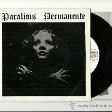 Discos de vinilo: PARALISIS PERMANENTE. NACIDOS PARA DOMINAR (VINILO SINGLE 1983 ). Lote 35621303