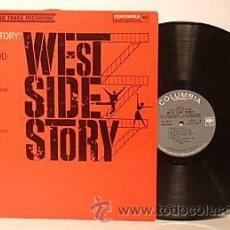 Discos de vinilo: WEST SIDE STORY / LEONARD BERNSTEIN 1961 !! RARA 1ªEDIC. ORIG USA MASTERWORKS !!. Lote 35627647