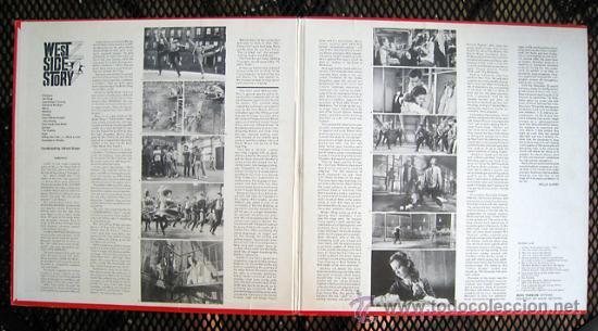 Discos de vinilo: west side story / LEONARD BERNSTEIN 1961 !! RARA 1ªEDIC. ORIG USA MASTERWORKS !! - Foto 2 - 35627647