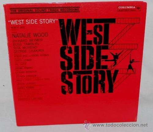 Discos de vinilo: west side story / LEONARD BERNSTEIN 1961 !! RARA 1ªEDIC. ORIG USA MASTERWORKS !! - Foto 3 - 35627647