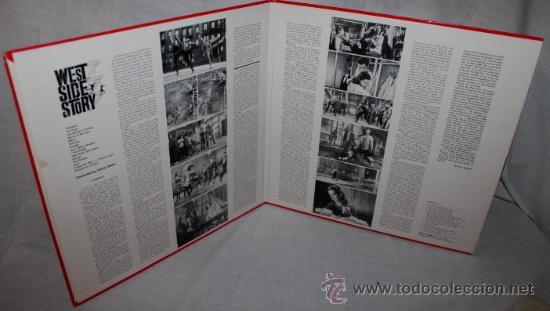 Discos de vinilo: west side story / LEONARD BERNSTEIN 1961 !! RARA 1ªEDIC. ORIG USA MASTERWORKS !! - Foto 4 - 35627647