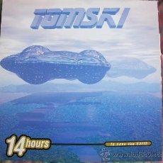 Discos de vinilo: MAXI - TOMSKI - 14 HOURS TO SAVE THE EARTH (THREE VERSION) (SPAIN, BOY RECORDS 1997). Lote 35639039