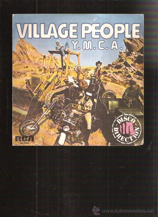 VILLAGE PEOPLE (Música - Discos de Vinilo - Singles - Pop - Rock Extranjero de los 80)
