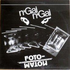 Discos de vinilo: N'GAI N'GAI - FOTOMATON (LP) 1988 - CANÇÓ CATALANA - ROCK CATALÀ. Lote 35642988