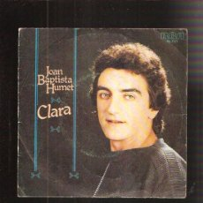 Disques de vinyle: JOAN BAPTISTA HUMET. Lote 35643567