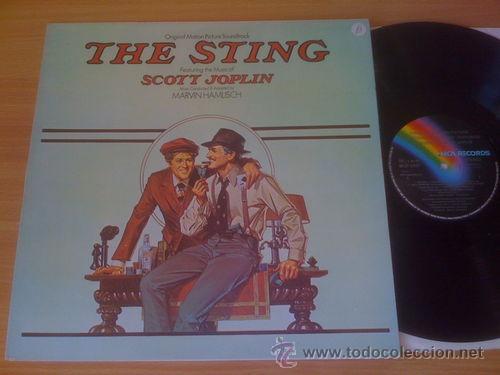 THE STING / EL GOLPE / 1973 B.S.O. SCOTT JOPLIN ( PAUL NEWMAN, ROBERT REDFORD !! ORIG.USA EDT. ! EXC (Música - Discos - LP Vinilo - Bandas Sonoras y Música de Actores )