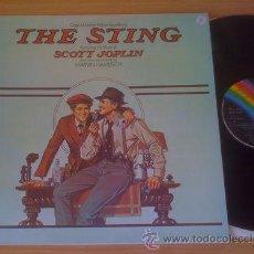 Discos de vinilo: THE STING / EL GOLPE / 1973 B.S.O. SCOTT JOPLIN ( PAUL NEWMAN, ROBERT REDFORD !! ORIG.USA EDT. ! EXC. Lote 35645623