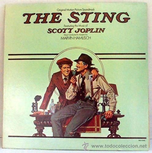 Discos de vinilo: THE STING / EL GOLPE / 1973 b.s.o. scott joplin ( paul newman, robert redford !! ORIG.USA EDT. ! EXC - Foto 2 - 35645623