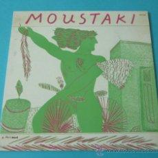 Discos de vinilo: MOUSTAKI. POLYDOR. Lote 35705169