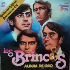 Discos de vinilo: LOS BRINCOS - ALBUM DE ORO - EDICIÓN DE 1981 DE ESPAÑA - DOBLE. Lote 125293458