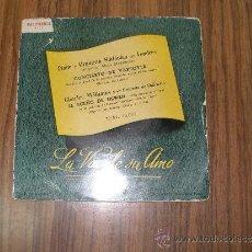 """Discos de vinilo: LA VOZ DE SU AMOR - CONCIERTO DE VARSOVIA """"AQUELLA NOCHE EN VARSOVIA"""" - EL SUEÑO DE OLWEN """"WHILE I... Lote 35650852"""