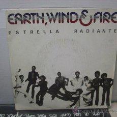 Discos de vinilo: EARTH WIND AND FIRE - ESTRELLA RADIANTE / ANHELANDO - EDICION ESPAÑOLA - CBS 1975. Lote 35656693