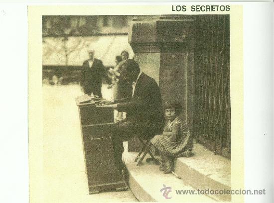 LOS SECRETOS. VOLVER A SER UN NIÑO (VINILO MAXI 1988) (Música - Discos de Vinilo - EPs - Grupos Españoles de los 70 y 80)