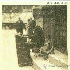 Discos de vinilo: LOS SECRETOS. VOLVER A SER UN NIÑO (VINILO MAXI 1988). Lote 36050313