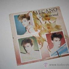 Discos de vinilo: MECANO - LA FIESTA NACIONAL / EL LADRON DE DISCOS - 1983 CBS - VG. Lote 35663164