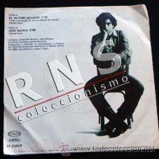 Discos de vinilo: CARLOS CANO EL ÚLTIMO BOLERO DISCO DE VINILO 45 RPM CANTAUTOR ANDALUZ ESPAÑOL MÚSICA CANTANTE 80 90. Lote 35670073