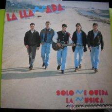 Discos de vinilo: LA LLAMADA - SÓLO ME QUEDA LA MÚSICA -LP SALAMANDRA ESPAÑA 1993 PEPETO. Lote 35671264