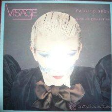 Discos de vinilo: VISAGE-FADE TO GREY-RARO-1982. Lote 131131335