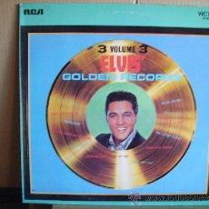 Discos de vinilo: ELVIS PRESLEY --- GOLDEN RECORDS VOL.3. Lote 35674184