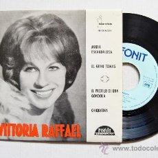Discos de vinilo: VITTORIA RAFFAEL - MARIA ESCANDALOSA/EL GRAN TOMAS… ¡¡NUEVO!! (FONIT EP 1963) ESPAÑA. Lote 35675174